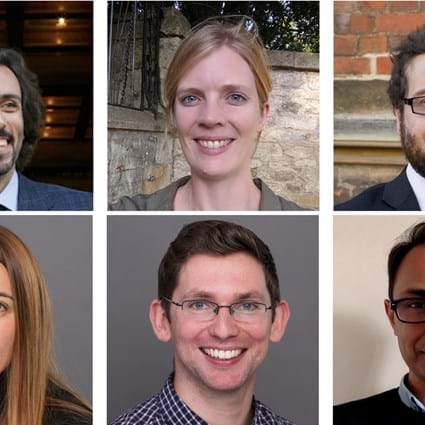A collage of academics who won the Teaching Awards this year