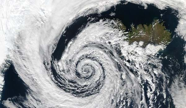 Climate weather cloud swirl